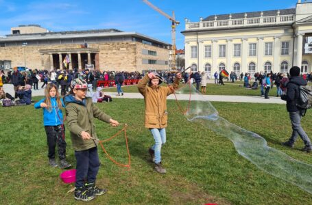 Demo-Frühlingserwachen in Kassel und Schweden